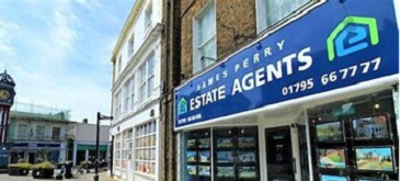 A picture of Perry and Partners Estate Agents shop in Sheerness.