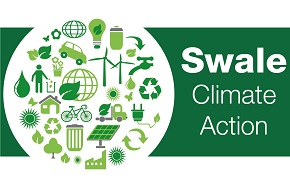 The logo for Swale Climate Change Action.