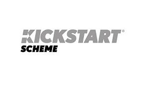 The logo of the Kickstart scheme.