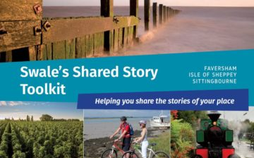 The cover of Swale's shared story toolkit